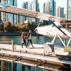 Отель Shangri-La Hotel Vancouver Канада, Ванкувер - отзывы, цены и фото номеров - забронировать отель Shangri-La Hotel Vancouver онлайн приотельная территория фото 2