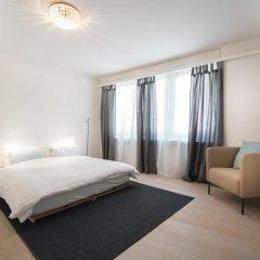 Отель Limmat River Side Apartment by Airhome Швейцария, Цюрих - отзывы, цены и фото номеров - забронировать отель Limmat River Side Apartment by Airhome онлайн комната для гостей фото 5