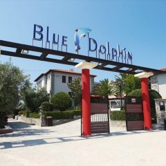 Отель Blue Dolphin Hotel Греция, Метаморфоси - отзывы, цены и фото номеров - забронировать отель Blue Dolphin Hotel онлайн парковка