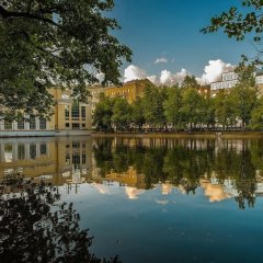 Hotel-Museum Epoch Москва приотельная территория