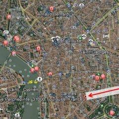 Отель Appartement Perchepinte Франция, Тулуза - отзывы, цены и фото номеров - забронировать отель Appartement Perchepinte онлайн приотельная территория