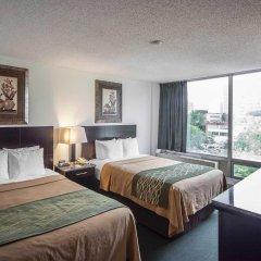 Отель Comfort Inn & Suites Downtown Edmonton комната для гостей фото 2