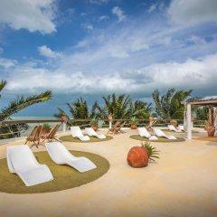 Отель Beachfront Hotel La Palapa - Adults Only Мексика, Остров Ольбокс - отзывы, цены и фото номеров - забронировать отель Beachfront Hotel La Palapa - Adults Only онлайн детские мероприятия фото 2