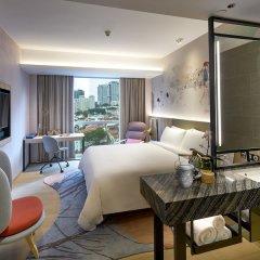 Отель Capri by Fraser China Square Singapore комната для гостей фото 4