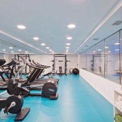 Отель Melia Madrid Princesa фитнесс-зал