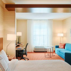 Отель Fairfield Inn & Suites by Marriott Columbus Dublin комната для гостей фото 2