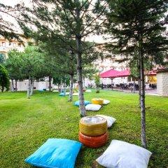 Hotel Yiltok Аванос приотельная территория
