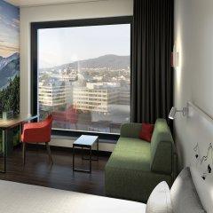 Отель A-Ja Zurich. Das City-Resort. Цюрих комната для гостей