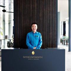 Отель InterContinental Sanya Resort фитнесс-зал