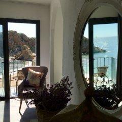 Отель Hostal Restaurant Sa Malica Бланес балкон