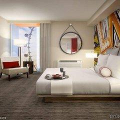 Отель The LINQ Hotel & Casino США, Лас-Вегас - 9 отзывов об отеле, цены и фото номеров - забронировать отель The LINQ Hotel & Casino онлайн комната для гостей фото 3