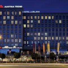 Austria Trend Hotel Ljubljana вид на фасад