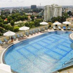 Отель Sofitel Saigon Plaza Вьетнам, Хошимин - отзывы, цены и фото номеров - забронировать отель Sofitel Saigon Plaza онлайн бассейн фото 2