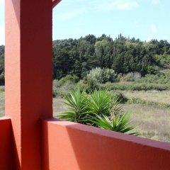 Отель Logas Beach Studios Греция, Корфу - отзывы, цены и фото номеров - забронировать отель Logas Beach Studios онлайн балкон