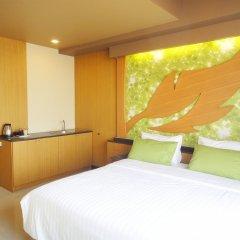 Отель Aleaf Bangkok Таиланд, Бангкок - отзывы, цены и фото номеров - забронировать отель Aleaf Bangkok онлайн комната для гостей фото 4