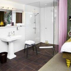 Отель 25hours Hotel at MuseumsQuartier Австрия, Вена - 13 отзывов об отеле, цены и фото номеров - забронировать отель 25hours Hotel at MuseumsQuartier онлайн ванная фото 3