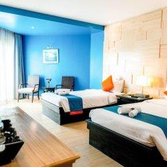 Отель Sea Breeze Jomtien Resort комната для гостей фото 11
