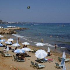 Отель Kernos Beach пляж фото 2