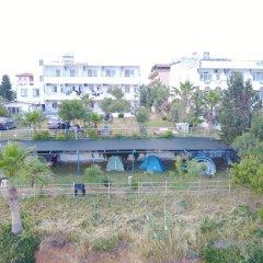 Отель Mavi Cennet Camping Pansiyon Сиде приотельная территория фото 2