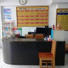 Отель Bamboo Rest House Таиланд, Краби - отзывы, цены и фото номеров - забронировать отель Bamboo Rest House онлайн интерьер отеля фото 3