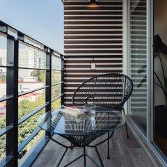 Отель Luxurious Designer 2BR Apt. in Polanco Мехико балкон