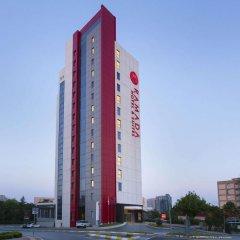 Ramada Hotel & Suites Atakoy Турция, Стамбул - 1 отзыв об отеле, цены и фото номеров - забронировать отель Ramada Hotel & Suites Atakoy онлайн вид на фасад