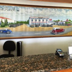 Отель 99 Palms Inn & Suites гостиничный бар
