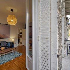 Апартаменты Apartment With 2 Bedrooms in Boulogne-billancourt, With Furnished Terrace and Wifi Булонь-Бийанкур балкон