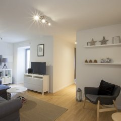 Апартаменты Liiiving in Porto Downtown Terrace Apartment комната для гостей фото 5
