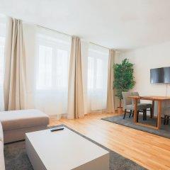 Отель SKY9 Apartments Margareten Австрия, Вена - отзывы, цены и фото номеров - забронировать отель SKY9 Apartments Margareten онлайн комната для гостей фото 4