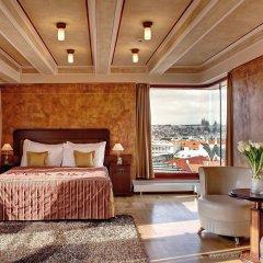Отель Majestic Plaza Чехия, Прага - 8 отзывов об отеле, цены и фото номеров - забронировать отель Majestic Plaza онлайн комната для гостей фото 4