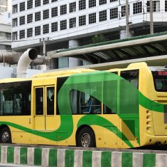 Отель The Present Sathorn Бангкок городской автобус