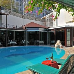 Grand Ata Park Hotel Турция, Фетхие - отзывы, цены и фото номеров - забронировать отель Grand Ata Park Hotel онлайн бассейн фото 3