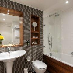 Отель Fraser Suites Edinburgh Великобритания, Эдинбург - отзывы, цены и фото номеров - забронировать отель Fraser Suites Edinburgh онлайн ванная фото 2