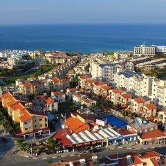 Отель Windmills Hotel Apartments Кипр, Протарас - отзывы, цены и фото номеров - забронировать отель Windmills Hotel Apartments онлайн пляж
