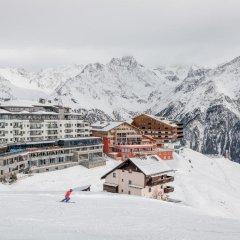 Отель Alpenhotel Enzian Зёльден спортивное сооружение