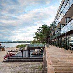Апартаменты Pirita Beach & SPA Таллин приотельная территория фото 2