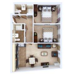 Апартаменты Fountain Court Grove Apartments Эдинбург развлечения