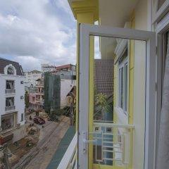 My Hy Hotel Далат балкон