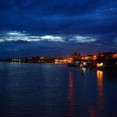 Отель Huy Hoang River Хойан приотельная территория