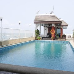 Отель Mike Hotel Таиланд, Паттайя - 1 отзыв об отеле, цены и фото номеров - забронировать отель Mike Hotel онлайн бассейн фото 2