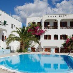 Отель Ekati Hotel Греция, Остров Санторини - отзывы, цены и фото номеров - забронировать отель Ekati Hotel онлайн бассейн