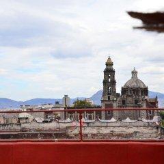 Отель Hostal Centro Historico Regina Мексика, Мехико - отзывы, цены и фото номеров - забронировать отель Hostal Centro Historico Regina онлайн балкон
