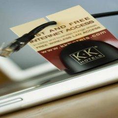 Отель K+K Hotel Fenix Чехия, Прага - 4 отзыва об отеле, цены и фото номеров - забронировать отель K+K Hotel Fenix онлайн сейф в номере