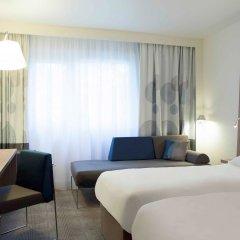 Отель Novotel Brussels Airport Бельгия, Диегем - 1 отзыв об отеле, цены и фото номеров - забронировать отель Novotel Brussels Airport онлайн комната для гостей
