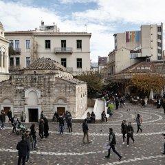 Отель FRESH Афины городской автобус