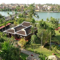 Отель Pho Hoi Riverside Resort пляж фото 2