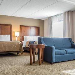 Отель Comfort Inn The Pointe США, Ниагара-Фолс - отзывы, цены и фото номеров - забронировать отель Comfort Inn The Pointe онлайн комната для гостей фото 5