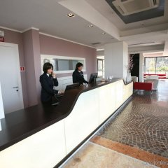Idea Hotel Roma Nomentana интерьер отеля