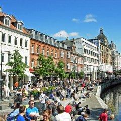 Отель First Hotel Atlantic Дания, Орхус - отзывы, цены и фото номеров - забронировать отель First Hotel Atlantic онлайн приотельная территория